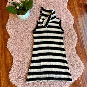 Free People Knit Striped Pullover Tunic/Sz:XS